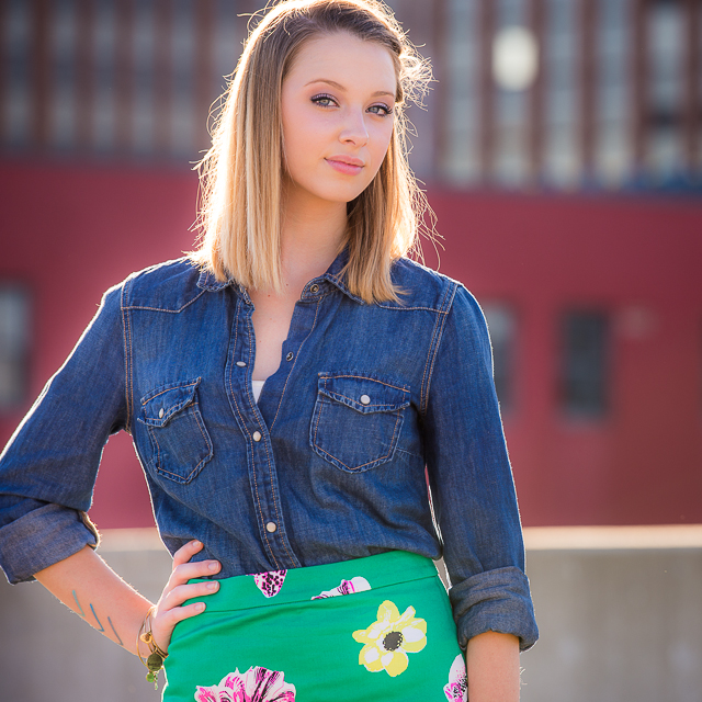 Emily // Grad Session in Downtown Akron