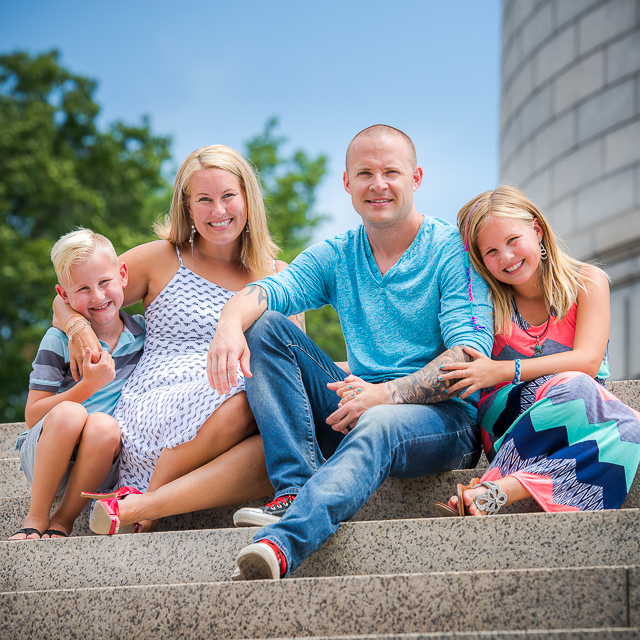 Kerri & Aaron, Kids, Grandparents & The Dog // Family Session in Canton