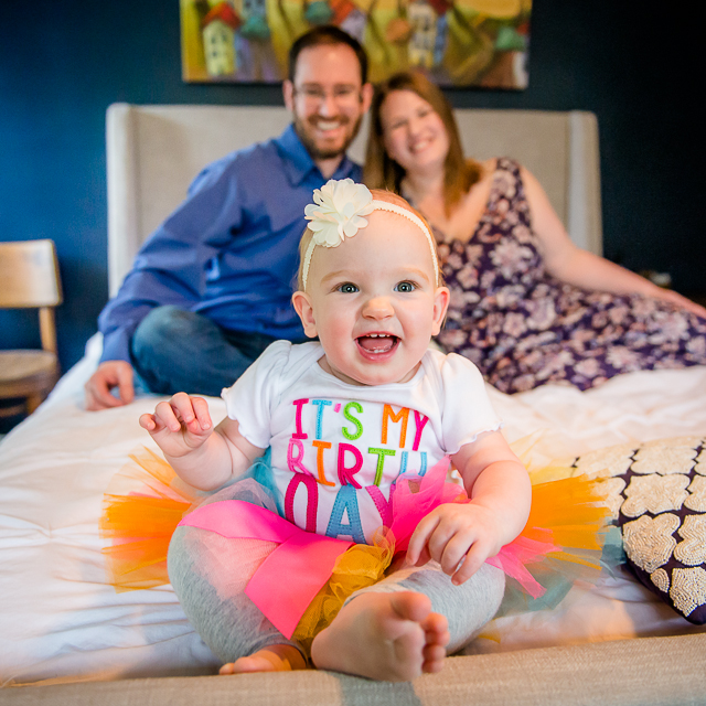 April, Scott & Maeva // 1st Birthday Family Session