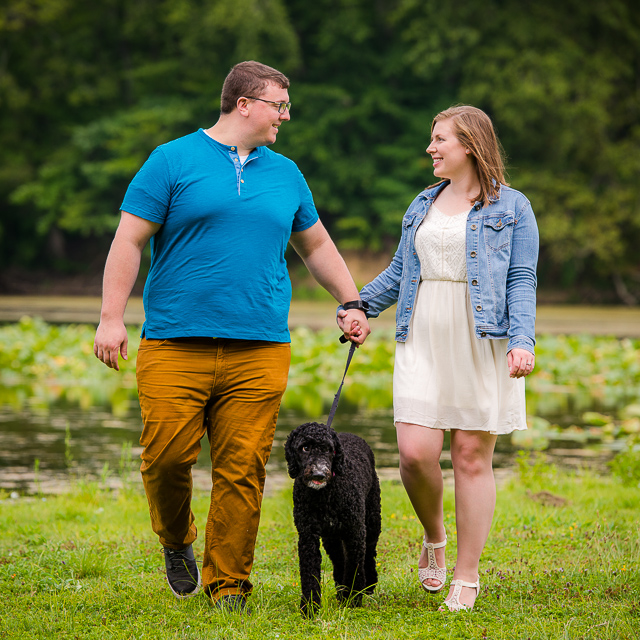 Karen & Nick // Engagement Session at Kendall Lake