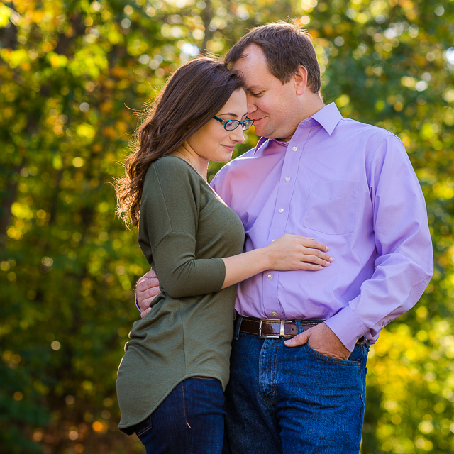 Julie & Adam // Engagement Session at Munroe Falls Park