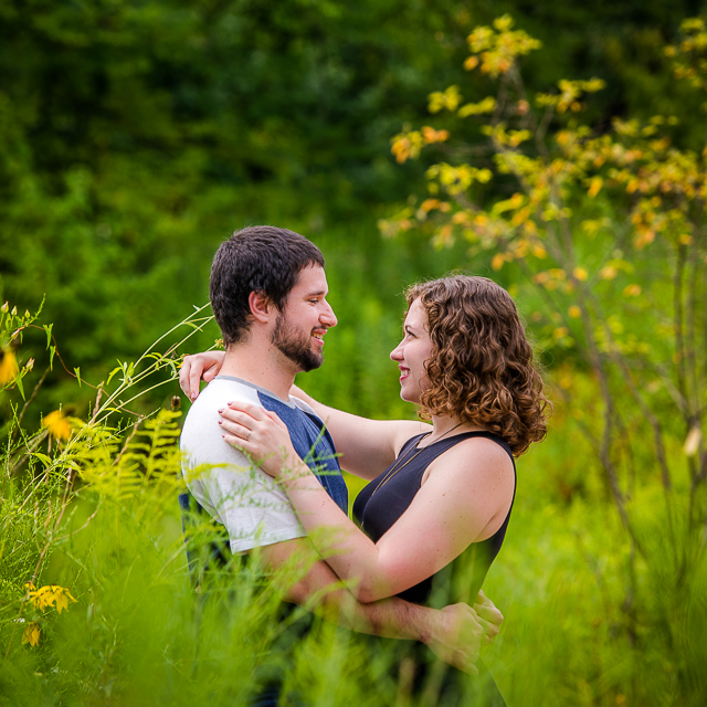 Andrea & Clint // Engagement at The Nature Realm
