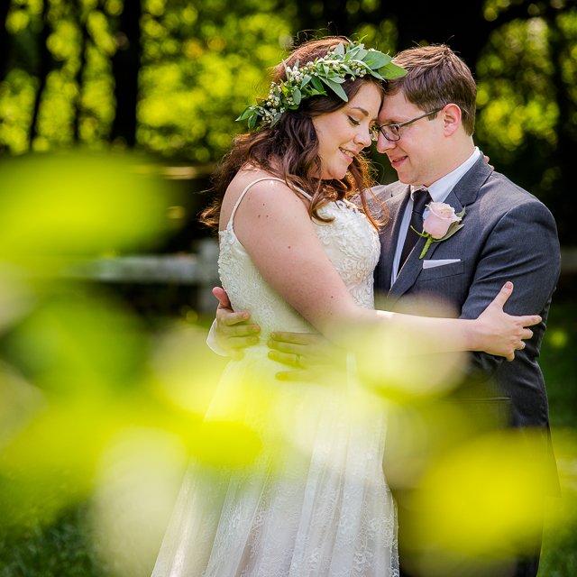 Keara & Andy // Wedding in Akron & Happy Days Lodge
