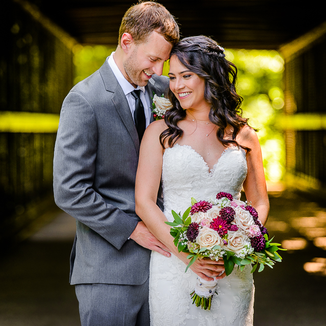 Kettie & Nate // Wedding at The Trailhead in Akron