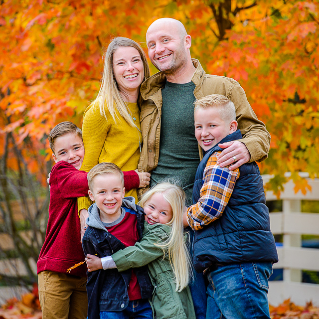 Paul & Courtney + Kiddos // Family Session in Akron
