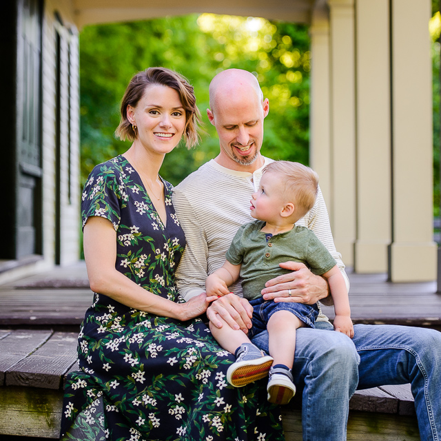Eric & Christy // Our Family Session in Akron